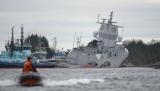 Опубліковано відео зіткнувся з танкером норвезького фрегата