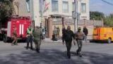 Опубліковано відео з місця вибуху в Донецьку