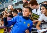Футбол: Руслан Ротань зіграв сотий матч за збірну України