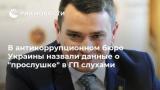 В антикорупційному бюро України назвали дані про